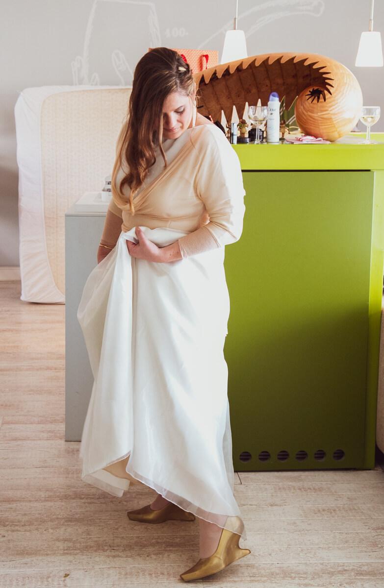 bruidsreportages, trouwjurk