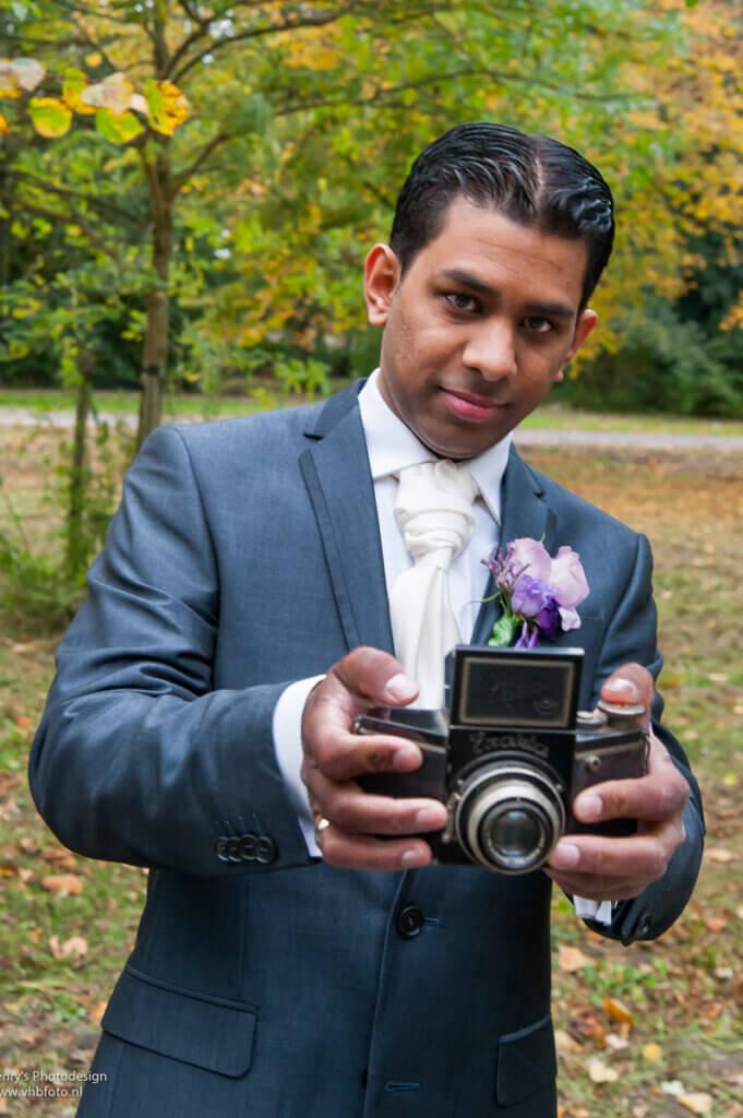 secondshooter bij bruiloft